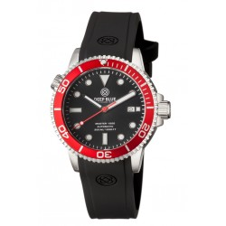 DEEP BLUE MASTER 1000 AUTOMATIC DIVER BLACK/RED