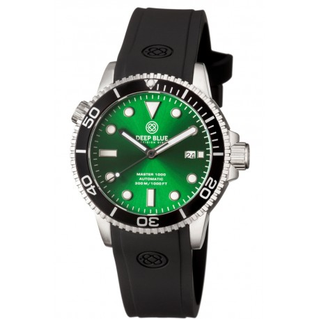 DEEP BLUE MASTER 1000 AUTOMATIC DIVER RED